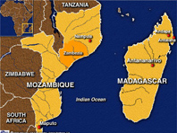 Partners For Madagascar Madagascar Geography - Where is madagascar